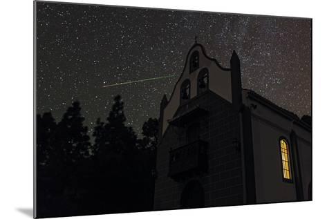 A Colorful Meteor Streaks the Sky in Ursa Minor-Babak Tafreshi-Mounted Photographic Print