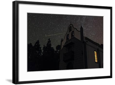 A Colorful Meteor Streaks the Sky in Ursa Minor-Babak Tafreshi-Framed Art Print