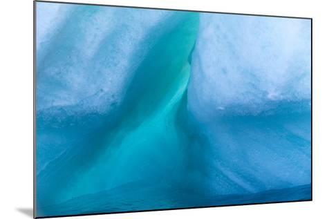 Detail of an Iceberg at Storoya Island-Michael Melford-Mounted Photographic Print
