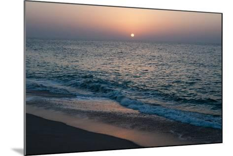 Sunset in Ras Al Hadd, Oman, and the Junction of the Gulf of Oman and Arabian Sea-Sergio Pitamitz-Mounted Photographic Print