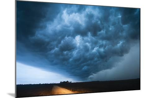 A Picturesque Supercell Thunderstorm at Twilight-Jim Reed-Mounted Photographic Print
