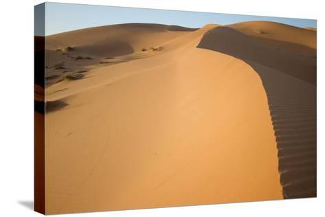 Sand Dunes of Morocco-Erika Skogg-Stretched Canvas Print