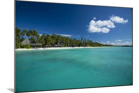 A Beach at a Resort in the Maldive Islands-Michael Melford-Mounted Photographic Print