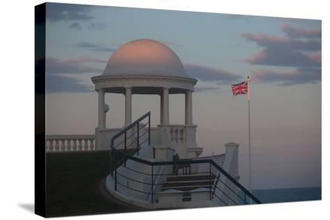 King George V Colonnade on the Seafront at Bexhill, East Sussex, England-Roff Smith-Stretched Canvas Print