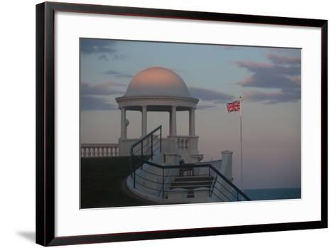 King George V Colonnade on the Seafront at Bexhill, East Sussex, England-Roff Smith-Framed Art Print