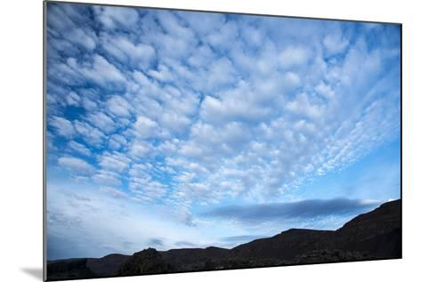 Stratocumulus Clouds over Scablands-Michael Melford-Mounted Photographic Print