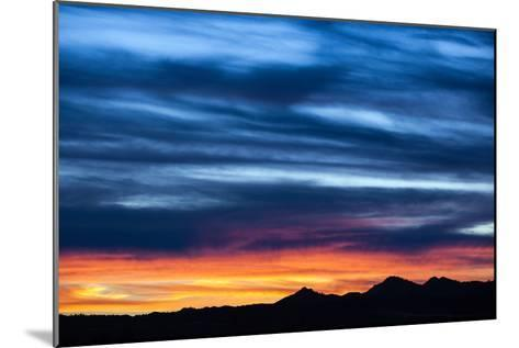 Spectacular Sunset and Stormy Sky-Jim Reed-Mounted Photographic Print