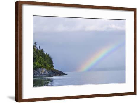 Rainbow over the Ocean-Rich Reid-Framed Art Print