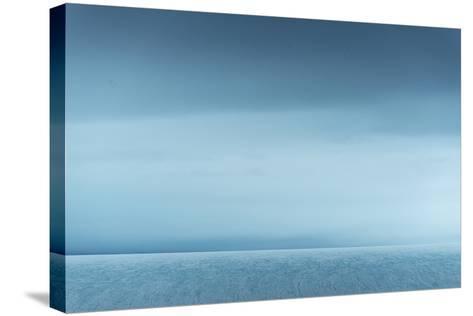 Ice Along Western Coast of Nordaustlandet-Michael Melford-Stretched Canvas Print