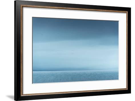 Ice Along Western Coast of Nordaustlandet-Michael Melford-Framed Art Print