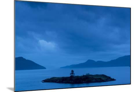 One of the San Juan Islands at Twilight-Michael Melford-Mounted Photographic Print