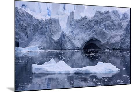 An Iceberg Reflects on the Ocean's Surface-Jim Richardson-Mounted Photographic Print