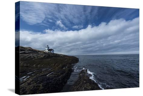 The Patos Island Lighthouse-Michael Melford-Stretched Canvas Print