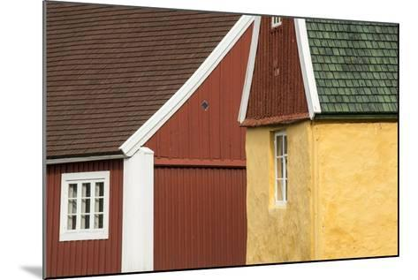 Colorful Buildings in Sisimiut-Michael Melford-Mounted Photographic Print