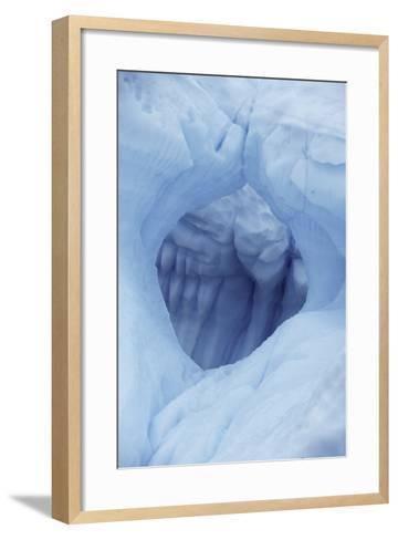 A Hole in an Iceberg-Jim Richardson-Framed Art Print