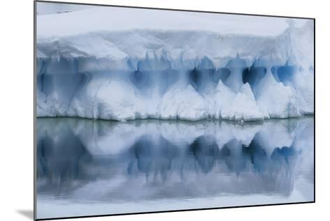 An Iceberg Reflects in the Surface of the Ocean-Jim Richardson-Mounted Photographic Print