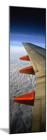 Aeroplane Wing Flying London to Glasgow-Design Pics Inc-Mounted Photographic Print