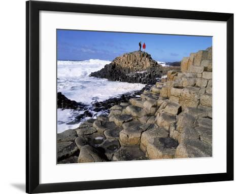 Giant's Causeway on the North Coast of Northern Ireland-Chris Hill-Framed Art Print