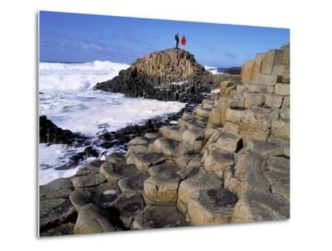 Giant's Causeway on the North Coast of Northern Ireland-Chris Hill-Metal Print