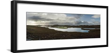 A Body of Water in a Rural Setting-Macduff Everton-Framed Art Print