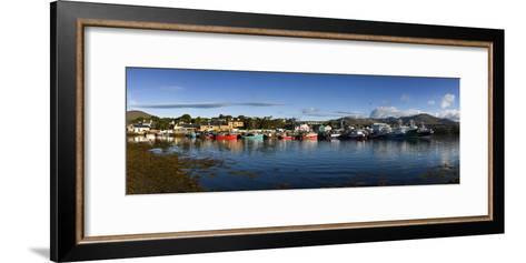 Castletown Bearhaven Harbour in Beara, Cork-Chris Hill-Framed Art Print