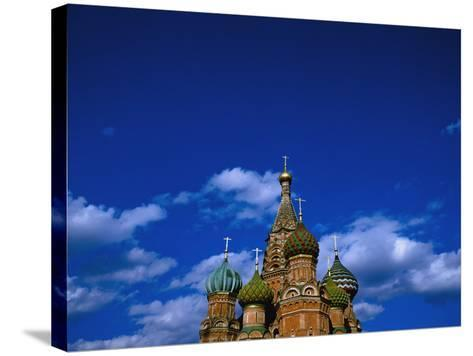 St. Basil's Cathedral, Moscow, Russia-Design Pics Inc-Stretched Canvas Print