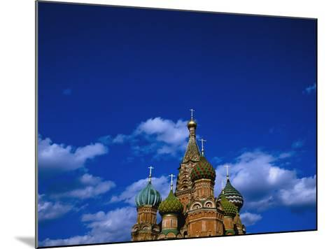 St. Basil's Cathedral, Moscow, Russia-Design Pics Inc-Mounted Photographic Print