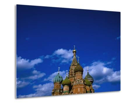 St. Basil's Cathedral, Moscow, Russia-Design Pics Inc-Metal Print