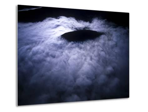 Aerial Photo of Fog-Covered Mountain in Cederberg Wilderness Area, South Africa-Keith Ladzinski-Metal Print