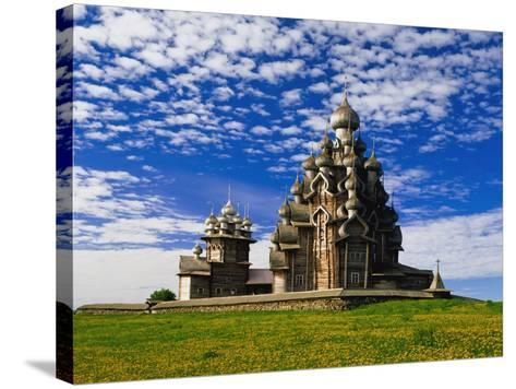 Transfiguration Cathedral on Kizhi Island-Design Pics Inc-Stretched Canvas Print