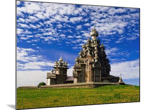 Transfiguration Cathedral on Kizhi Island-Design Pics Inc-Mounted Photographic Print