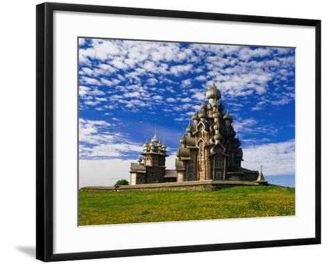 Transfiguration Cathedral on Kizhi Island-Design Pics Inc-Framed Art Print