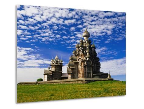 Transfiguration Cathedral on Kizhi Island-Design Pics Inc-Metal Print