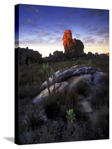 Sunset over Cederberg Wilderness Area, South Africa-Keith Ladzinski-Stretched Canvas Print