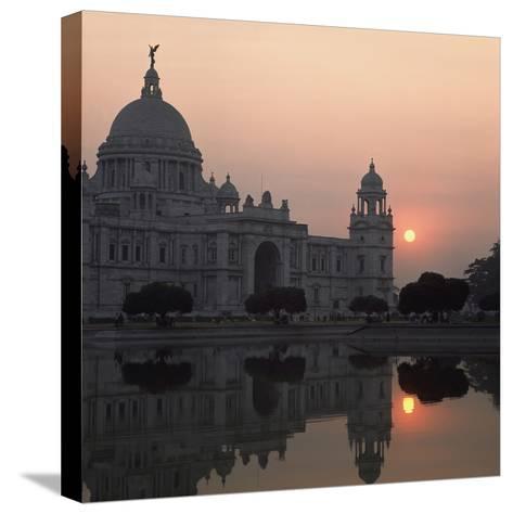 Victoria Memorial-Design Pics Inc-Stretched Canvas Print