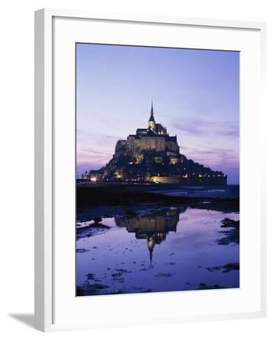 Mance Mont St Michel,Brittany,France-Design Pics Inc-Framed Art Print