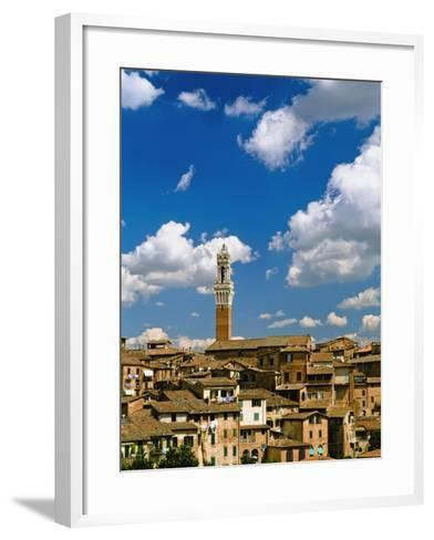 Torre De Mangia and Siena Skyline-Design Pics Inc-Framed Art Print