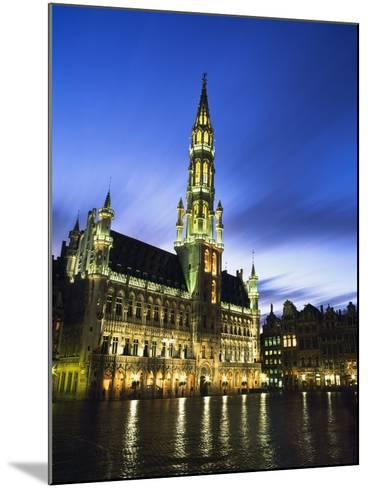 Hotel De Ville and Grand Place-Design Pics Inc-Mounted Photographic Print