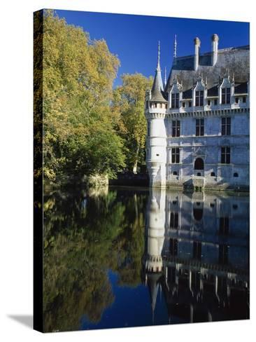 Azay Le Rideau Castle-Design Pics Inc-Stretched Canvas Print