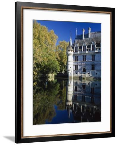 Azay Le Rideau Castle-Design Pics Inc-Framed Art Print