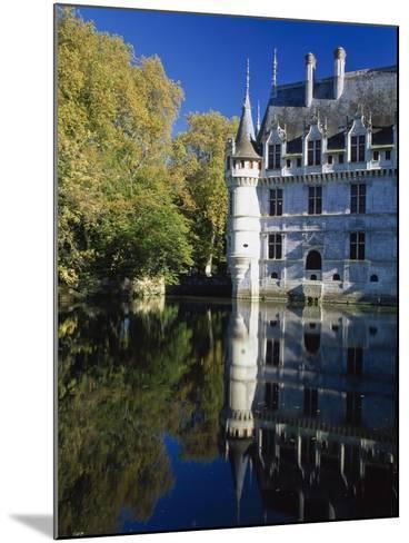 Azay Le Rideau Castle-Design Pics Inc-Mounted Photographic Print