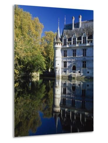 Azay Le Rideau Castle-Design Pics Inc-Metal Print