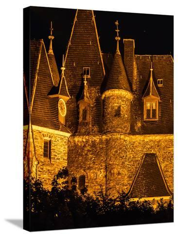 Exterior Detail of the Imperial Castle of Cochem-Babak Tafreshi-Stretched Canvas Print