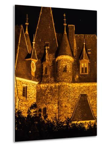 Exterior Detail of the Imperial Castle of Cochem-Babak Tafreshi-Metal Print