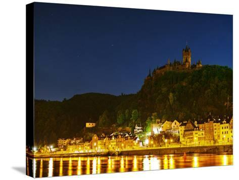 The Imperial Castle of Cochem Sits Above the Town on the Moselle River-Babak Tafreshi-Stretched Canvas Print