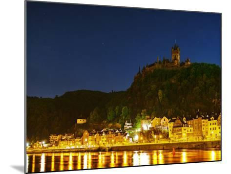 The Imperial Castle of Cochem Sits Above the Town on the Moselle River-Babak Tafreshi-Mounted Photographic Print