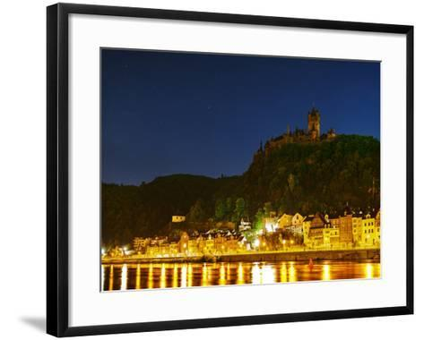 The Imperial Castle of Cochem Sits Above the Town on the Moselle River-Babak Tafreshi-Framed Art Print