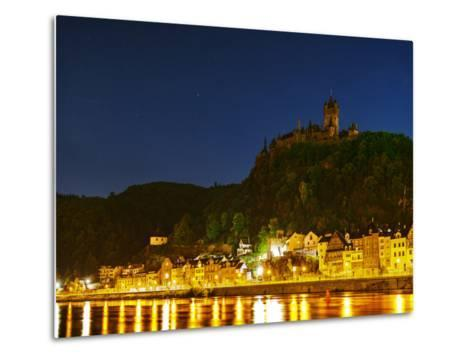 The Imperial Castle of Cochem Sits Above the Town on the Moselle River-Babak Tafreshi-Metal Print
