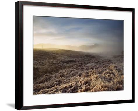 Frosted Fields and Misty Valley-Design Pics Inc-Framed Art Print