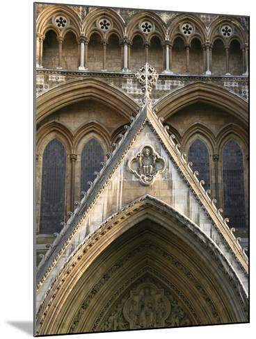 Detail of Westminster Abbey-Design Pics Inc-Mounted Photographic Print